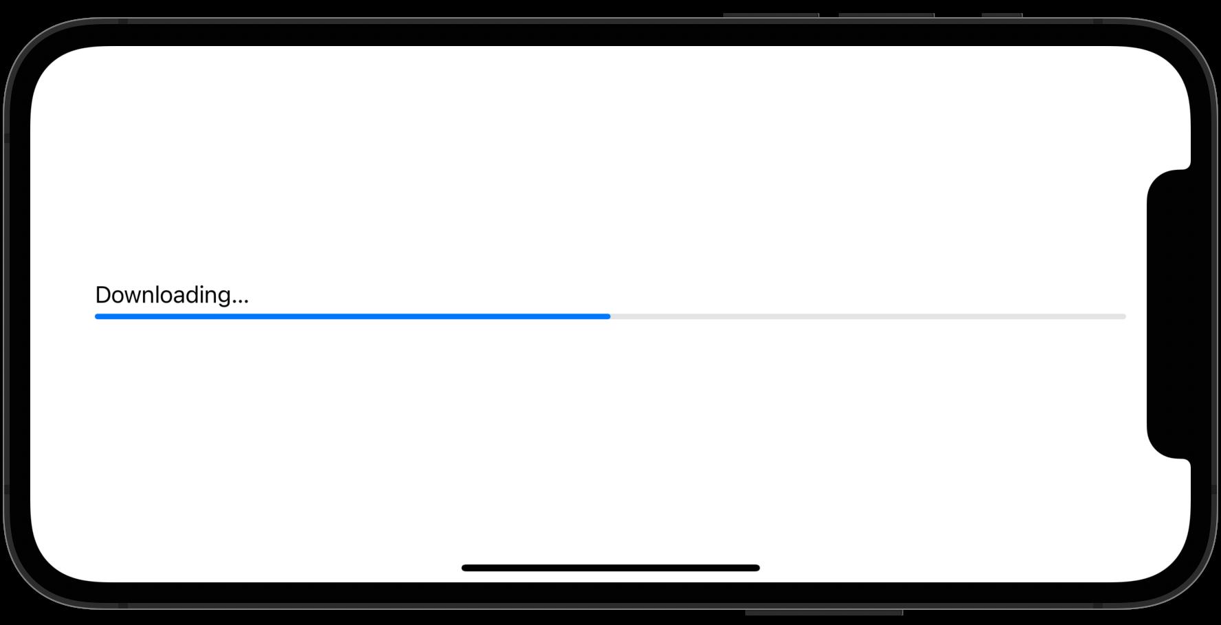ProgressView の基本使用例